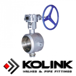 Butt-welding End Butterfly Valve