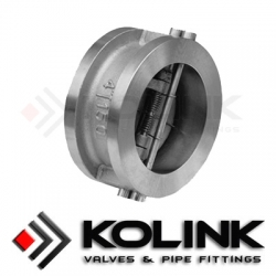 Dual-plate Wafer Check Valve