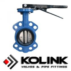 Wafer Type Center Line Butterfly Valve