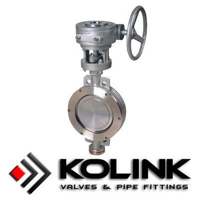 Wafer Triple Eccentric Butterfly Valve