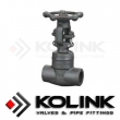 Forged Steel Globe Valve (Welded Bonnet)